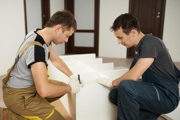 Service of assembly furniture