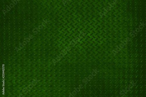 Grunge metal diamond plate floor texture background. - 213442578