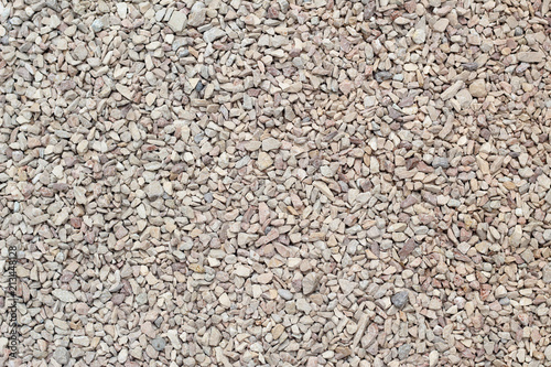 Aluminium Stenen gravel texture