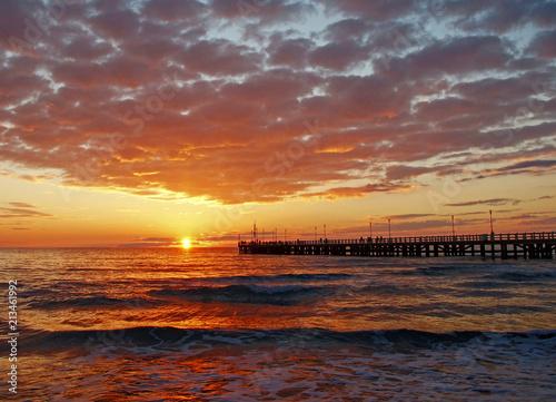 sunset in versilia - 213461992