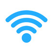 Wi-Fi signal icon - blue