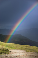 Rainbow over the Cinnamon Pass Colorado