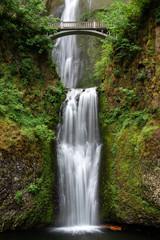 Multnomah Falls in Columbia River Gorge, Oregon, USA © NoraDoa