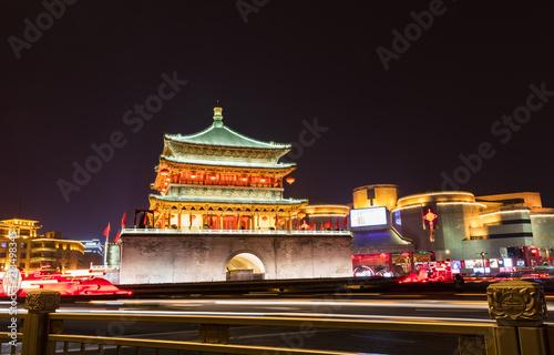 Plexiglas Peking Zhonggu Building, Xi'an, Shaanxi