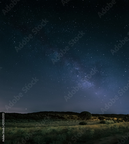 Milky Way in a summer night