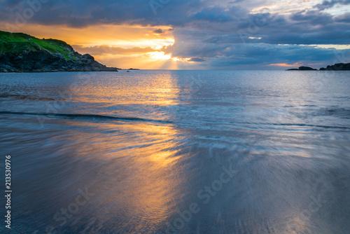 Beutifull sunset in Ireland - 213530976