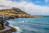 Marseille coastline by the Mediterranean sea, France - 213541932