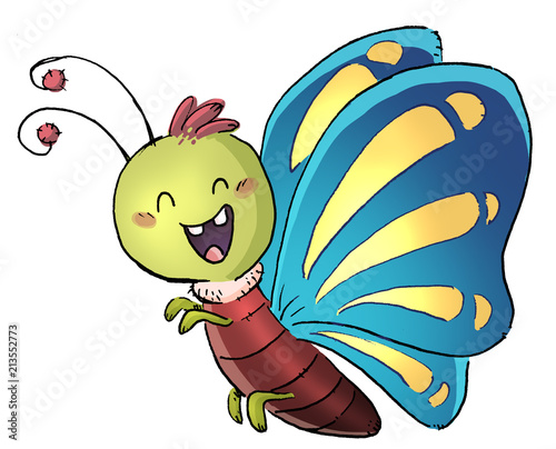 mariposa volando - 213552773