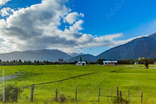 パタゴニアの牧場