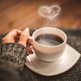 Сup of fragrant coffee - 213579770