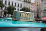 Taxi in Lisbon, the capital city of Portugal. Europe - 213580112