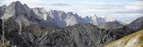 Foto Murales Gebirgskette in Tirol