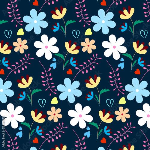 Flower pattern - 213585575