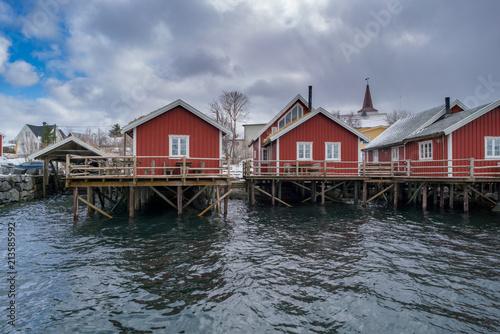 Foto Murales Norwegian village