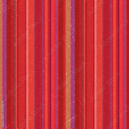 Vertical stripes pattern, seamless texture background. Ideal for printing onto fabric and paper or decoration. Red, orange colors.