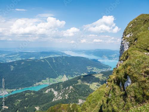 Fototapeta Gipfel des Schafberg