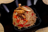 Delicious tyahan with chicken - 213609927