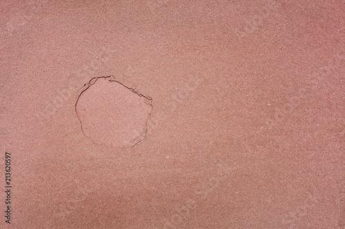 Aluminium Stenen Details of sand stone texture in the nature