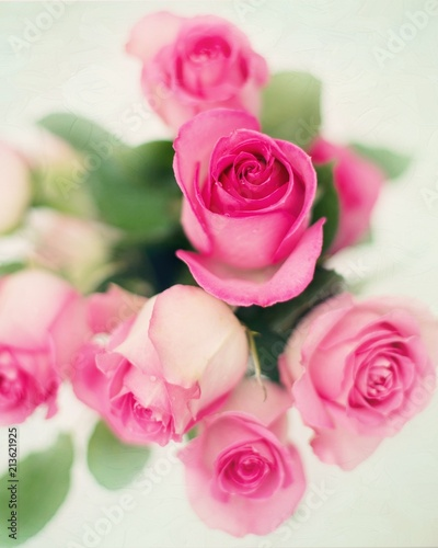 A bouquet of roses. - 213621925