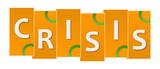 Crisis Orange Green Stripes Rings  - 213625122