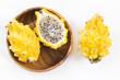 Yellow dragon fruit or dragon fruit - Selenicereus megalanthus