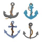 anchor vector collection design