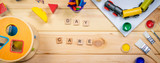 Day care concept - toy and art supply - 213636538