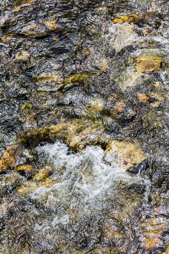 Fotobehang Stenen River
