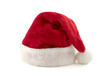 Santa Claus red hat isolated on white background - 213658915