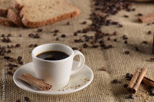 Aluminium Koffiebonen mesa de café