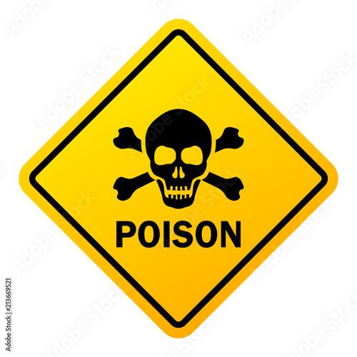 poison danger warning sign buy photos ap images detailview