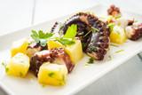 Insalata di polpo e patate, Mediterranean food - 213677989