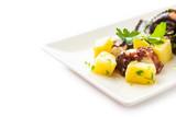Insalata di polpo e patate, Mediterranean food - 213679303