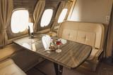 Luxurious Aircraft Cabin - 213683543