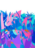 background abstract design in vivid colors - 213718760