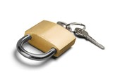 Padlock and Key - 213725962