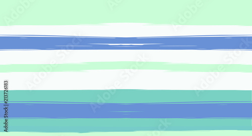 Navy Watercolor Horizontal Seamless Sailor Stripes. Geometric Vintage Summer Maritime Texture Prints. Hand Painted Male or Female T-Shirt Autumn Ocean Pattern. Blue Sea Watercolor Sailor Stripes.