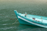 Fishing boat in the sea Thailand. - 213733102