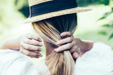 Hair style © Laszlo