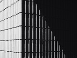 Architecture details Concrete wall Pattern shade shadow Abstract background - 213760301