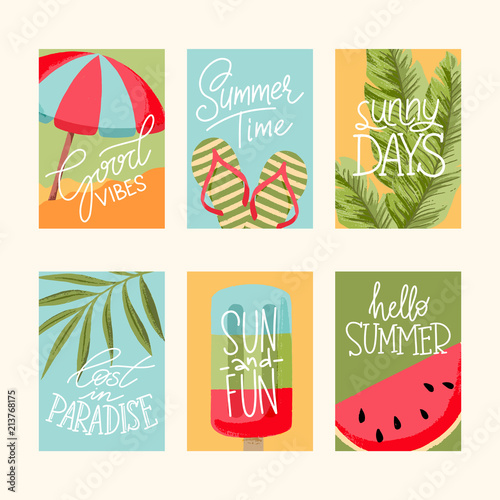 Summer Cards Collection - 213768175
