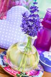 Lavendel  -  Öl und Dekoration - 213771554