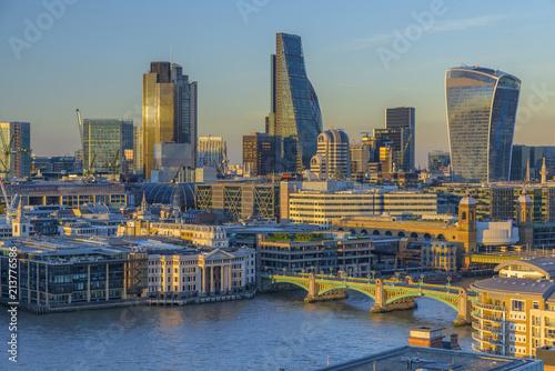 Plexiglas London UK, England, London, City of London, Skyline