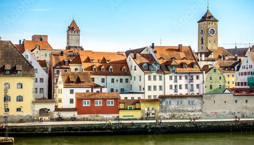 old town regensburg - bavaria - 213791948