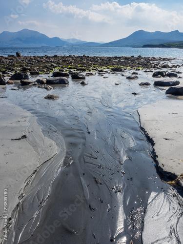 Leinwanddruck Bild irland County Donegal Küste bei Connemara
