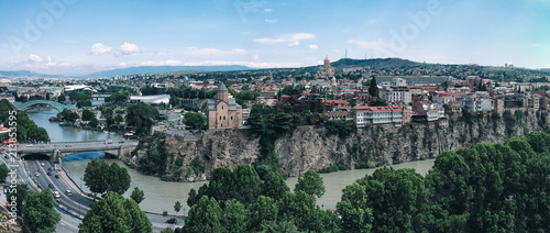 Tbilisi Panorama View - Georgia - 213853595