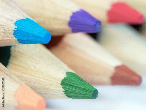 Leinwandbild Motiv  Farben - Farbtöne - Grün