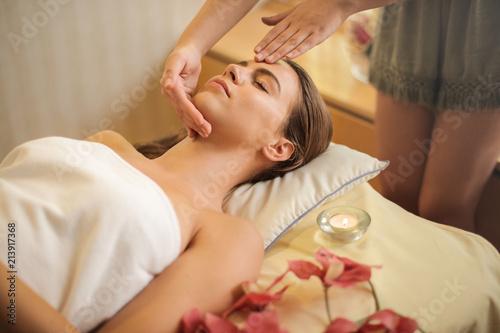 Leinwandbild Motiv Relax in the spa