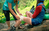 hiking first aid - 213918304