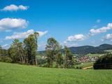 Blick in den Bayrischen Wald - 213934148
